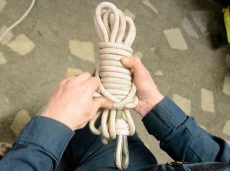 Спасательная веревка