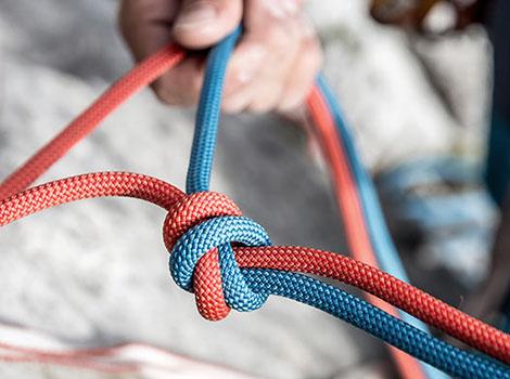 Купить веревку для скалолазания